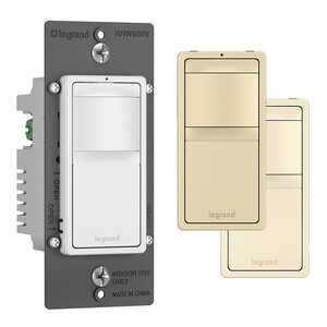 Legrand  Radiant  Multicolored  600 watts Slide  Dimmer Switch  1 pk