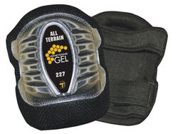 Tommyco  GELite  6 in. L x 4.5 in. W Gel  Knee Pads  Black  One Size Fits All