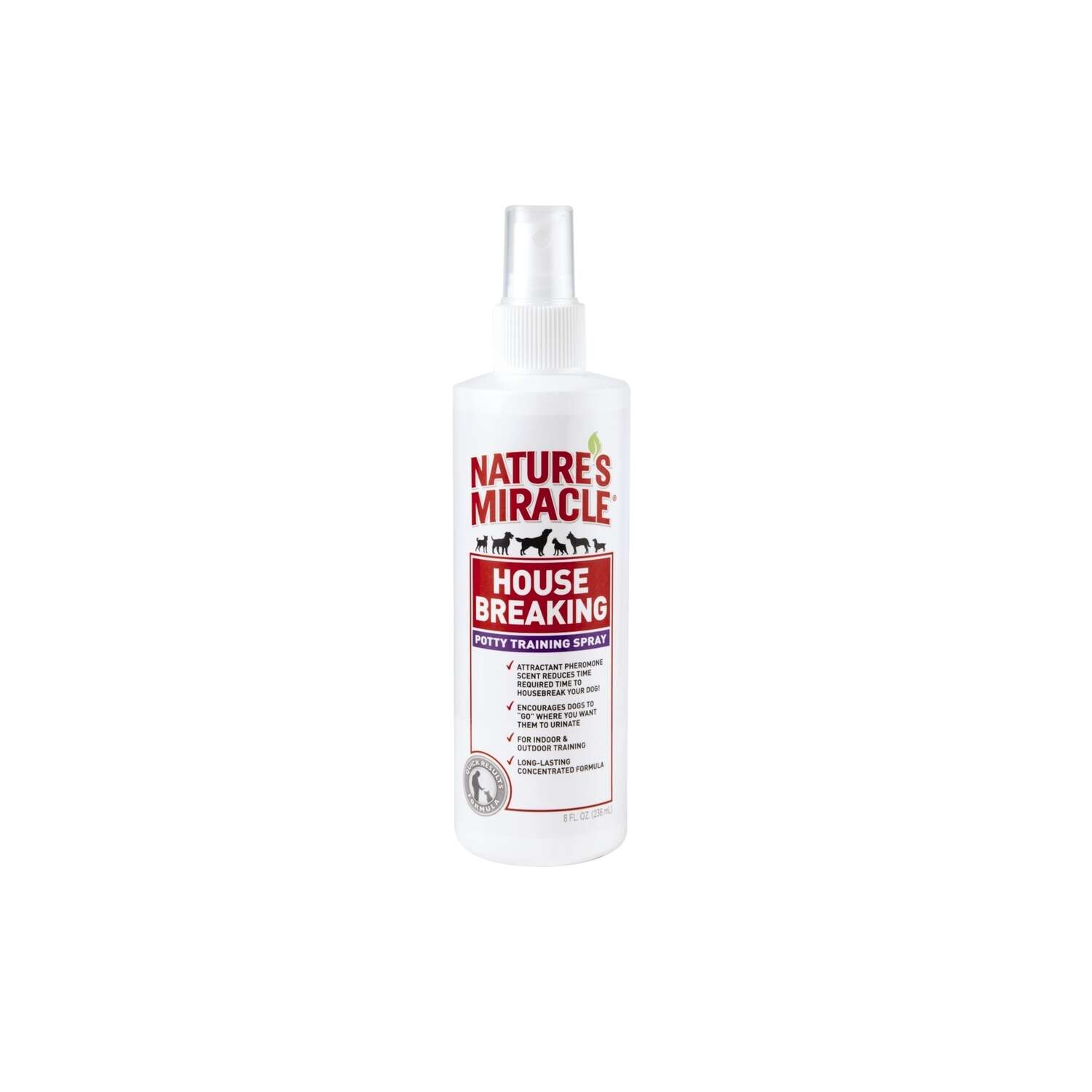 Nature's Miracle Dog Housebreak Training Spray 8 oz.