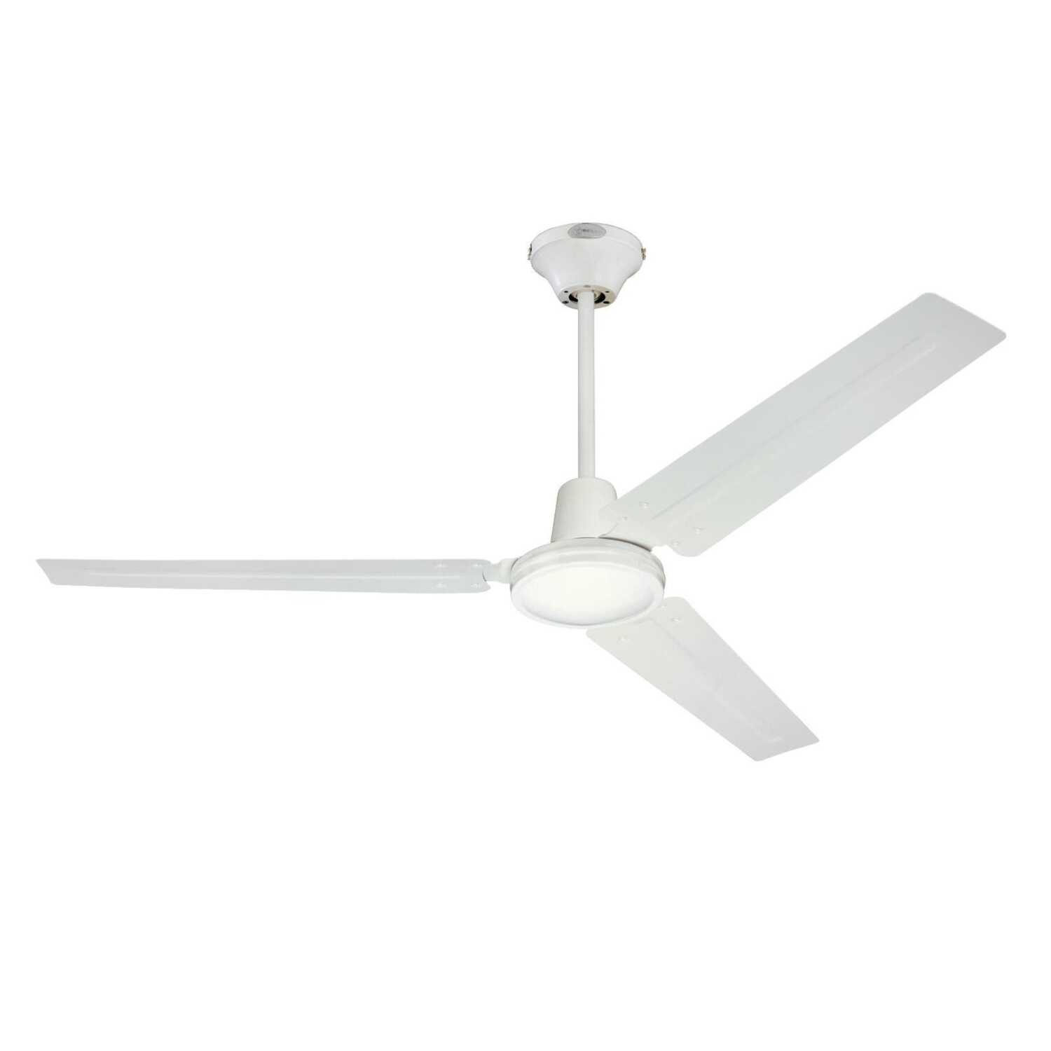 Westinghouse  Industrial  56 in. 3 blade Indoor  Antique White  Ceiling Fan