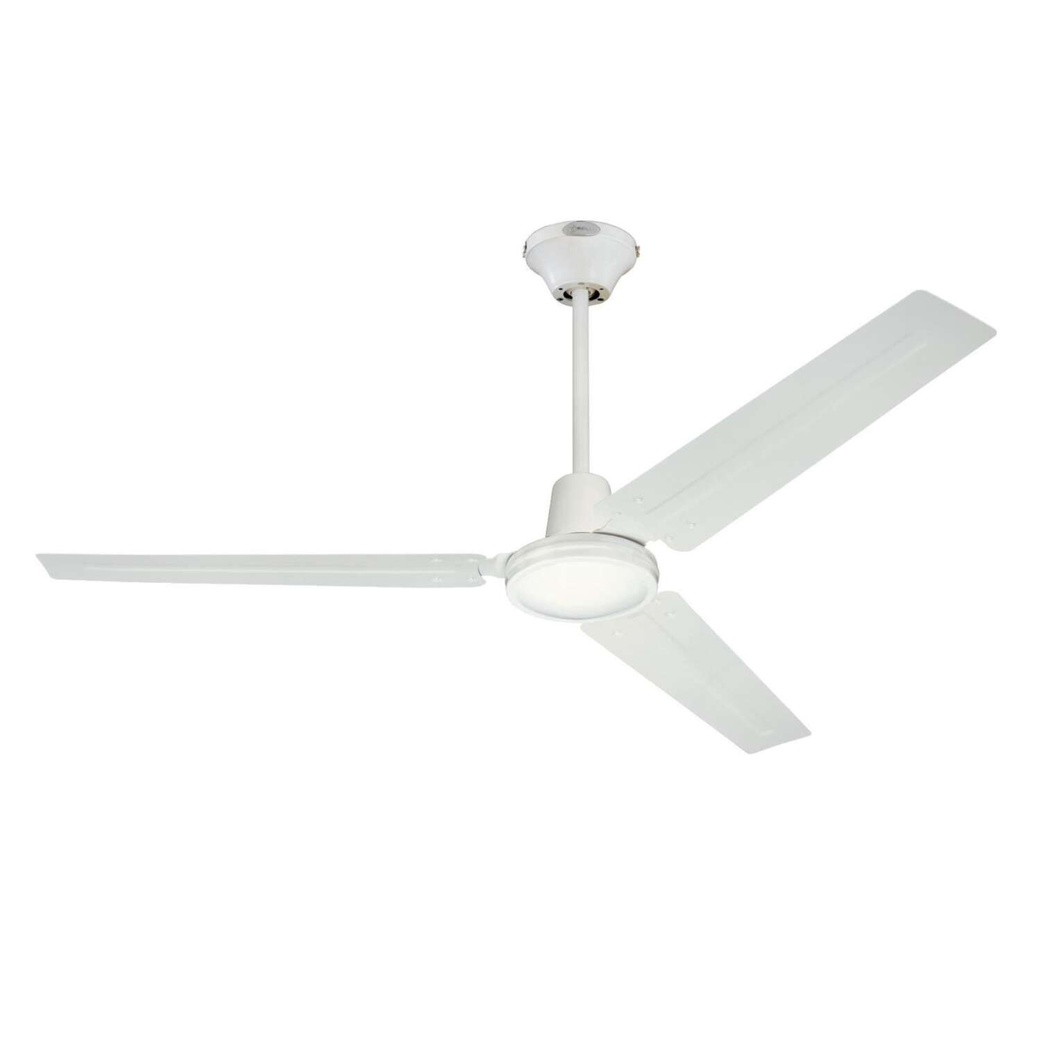 Westinghouse  Industrial  56 in. Antique White  Indoor  Ceiling Fan