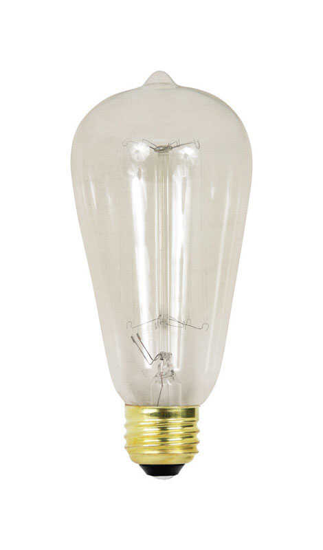 FEIT Electric  The Original  60 watts ST19  Incandescent Bulb  305 lumens Soft White  Vintage  1 pk