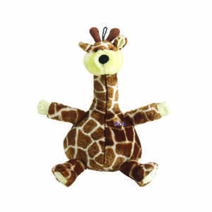 Booda  Multicolored  Giraffe  Plush  Bellies X-Large Giraffe  Extra Large