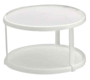 Rubbermaid  White  6 in. H x 10.5 in. Dia. Plastic  Kitchen Turntable