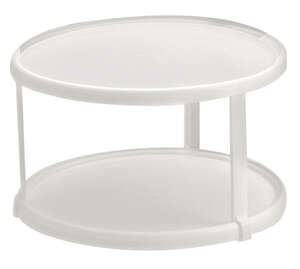 Rubbermaid Turntable 6 in. x 10-1/2 in. Plastic White