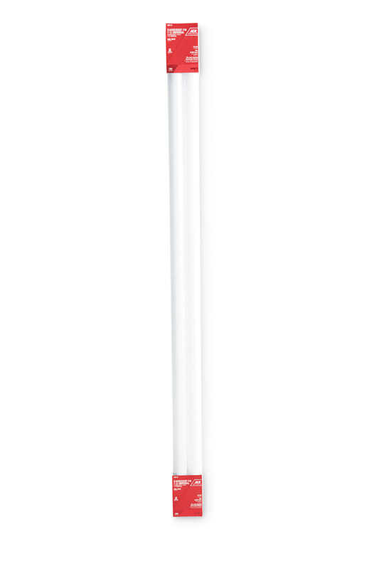 Ace  40 watts T12  48 in. L Fluorescent Bulb  Cool White  Linear  4100 K 2 pk