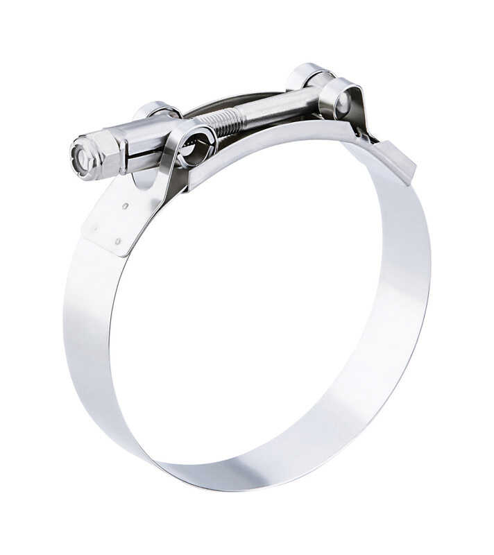 Breeze  2.88 in. to 3.19 in. Stainless Steel Band  T-Bolt Clamp