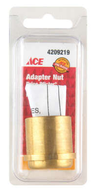 Ace  Faucet Adapter Nut  For Pfister