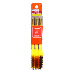Allway  1/2 in. W x 7 in. L Assorted  Mini Bristle Brush