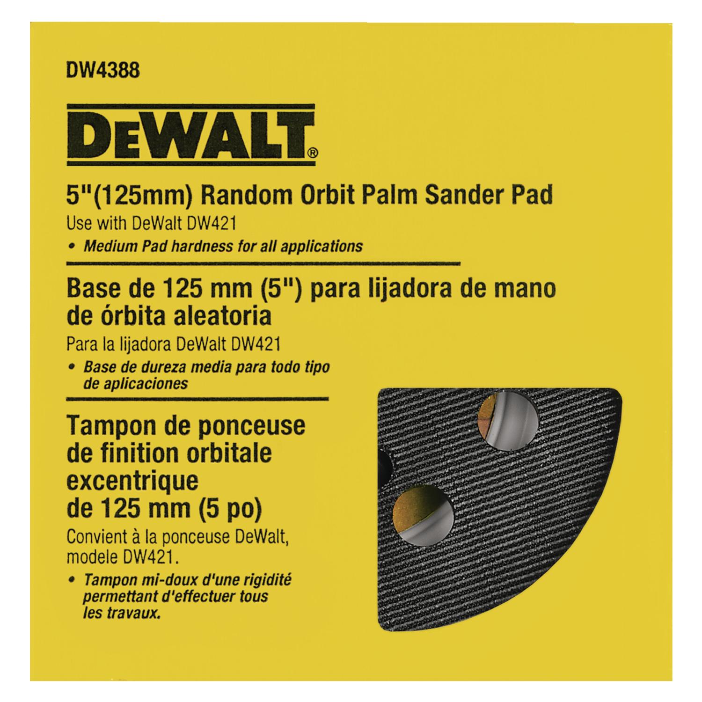 """Set Of 2pc 5/"""" 8 Hook /& Loop Sander Pad for DeWalt /& Makita"""