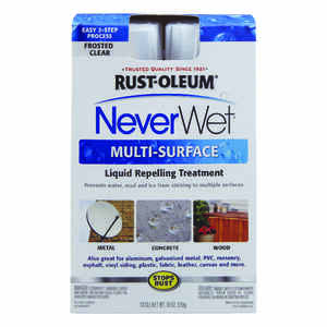 Rust-Oleum  NeverWet  Multi-Surface Repelling Treatment  12 oz. Frosted Clear
