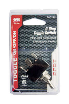 Gardner Bender  Toggle  O-Ring Switch  Silver  1 pk