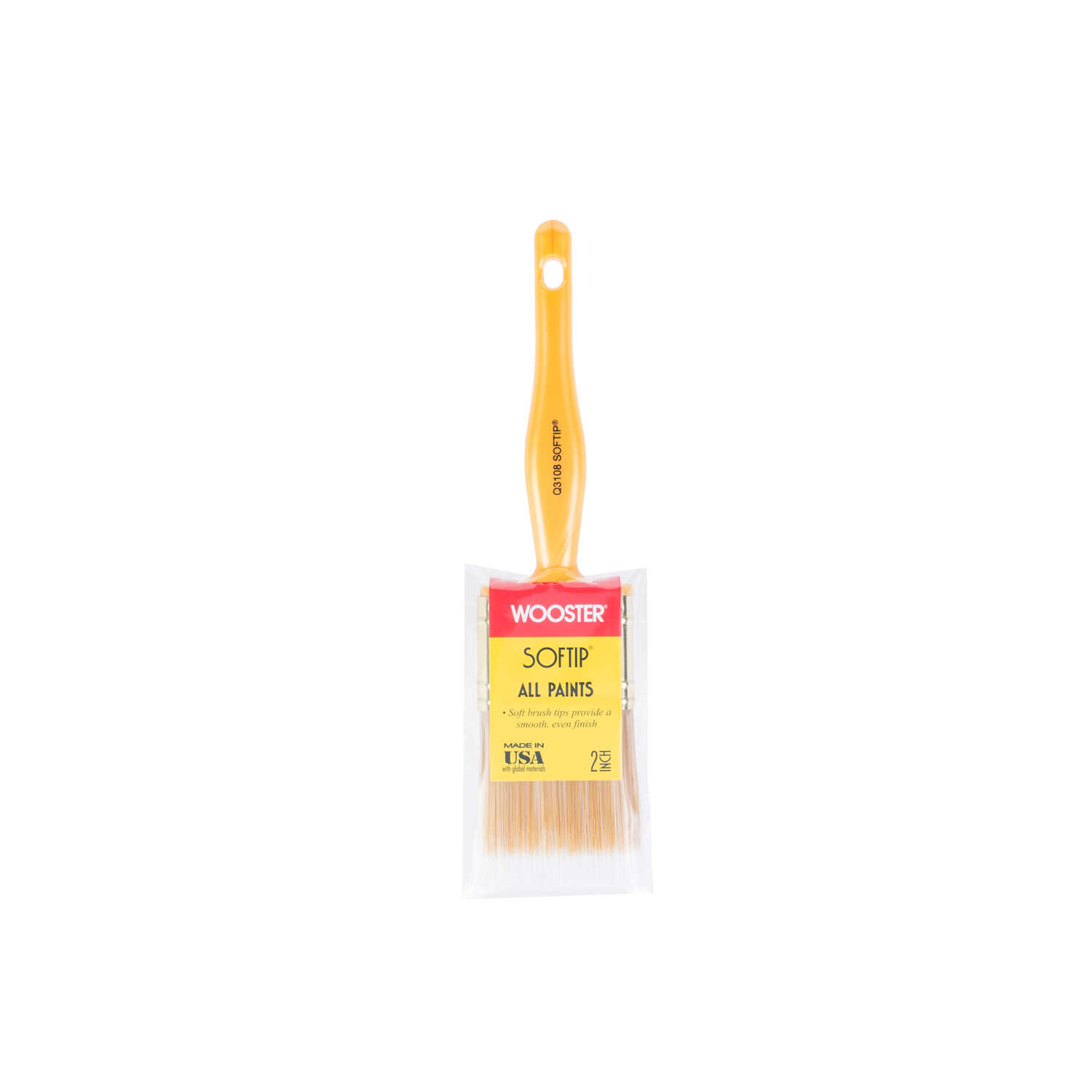 Wooster  Softip  2 in. W Flat  Synthetic Blend  Paint Brush
