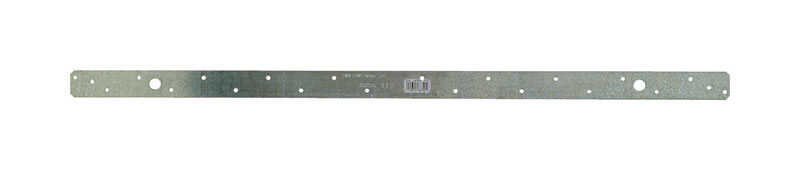 Simpson Strong-Tie  1.25 in. W x 30 in. H x 1-1/4 in. W 18 Ga. Galvanized Steel  Strap