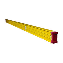 Stabila 96 in. Aluminum Type 196 Heavy Duty Level 3 vial