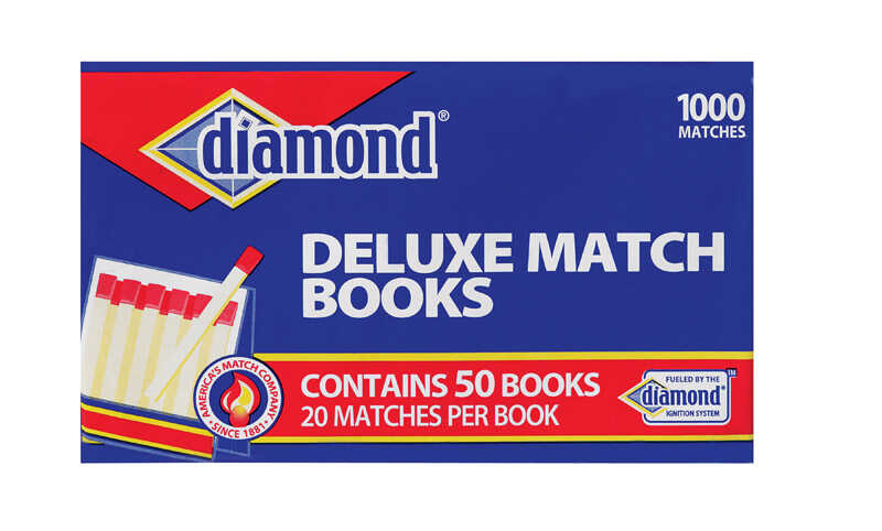 Diamond  2.9 in. L Strike Anywhere Matches  20 pc.