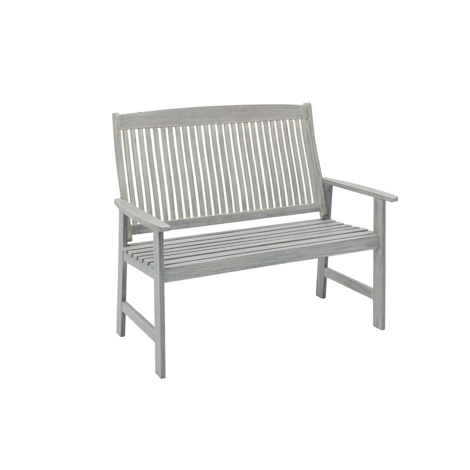 Jack Post  Park Bench  Wood  40.25 in. H x 28.75 in. L x 47.25 in. D