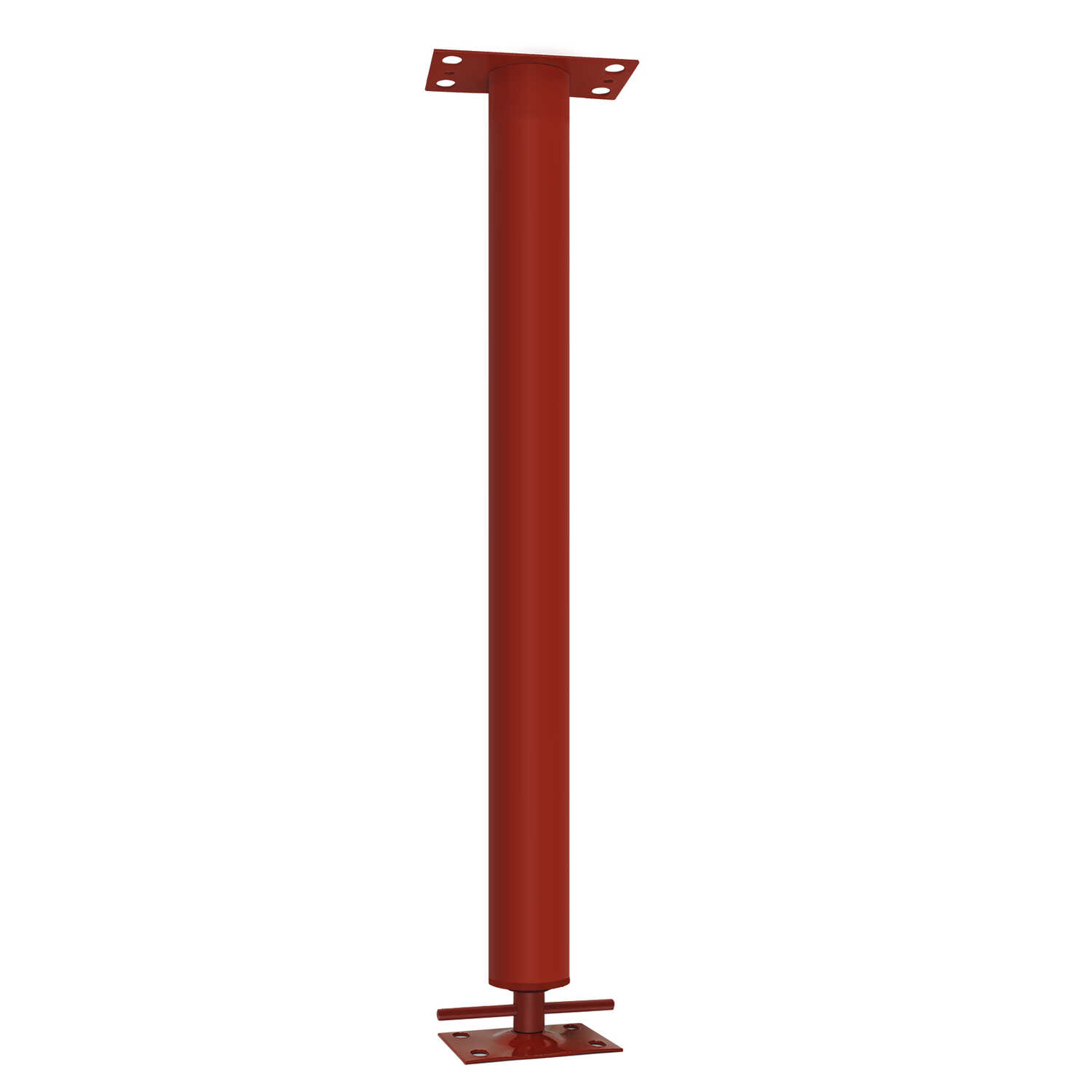Tiger Brand Jack  3 in. Dia. x 20 in. H Adjustable Building Support Column  24700 lb.