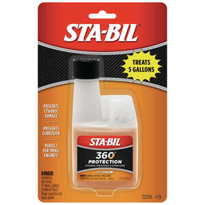 STA-BIL  2 and 4 Cycles  Complete Fuel System Cleaner  4 oz.