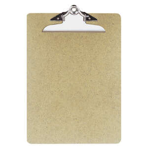 Office Depot  9 in. W x 12.5 in. L Recycled Hardboard  Clipboard