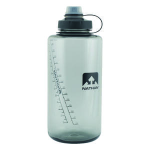 Nathan  50 oz. SuperShot  Water Bottle  Gray