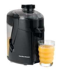 Hamilton Beach  Black  Stainless Steel  12 oz. Juice Extractor