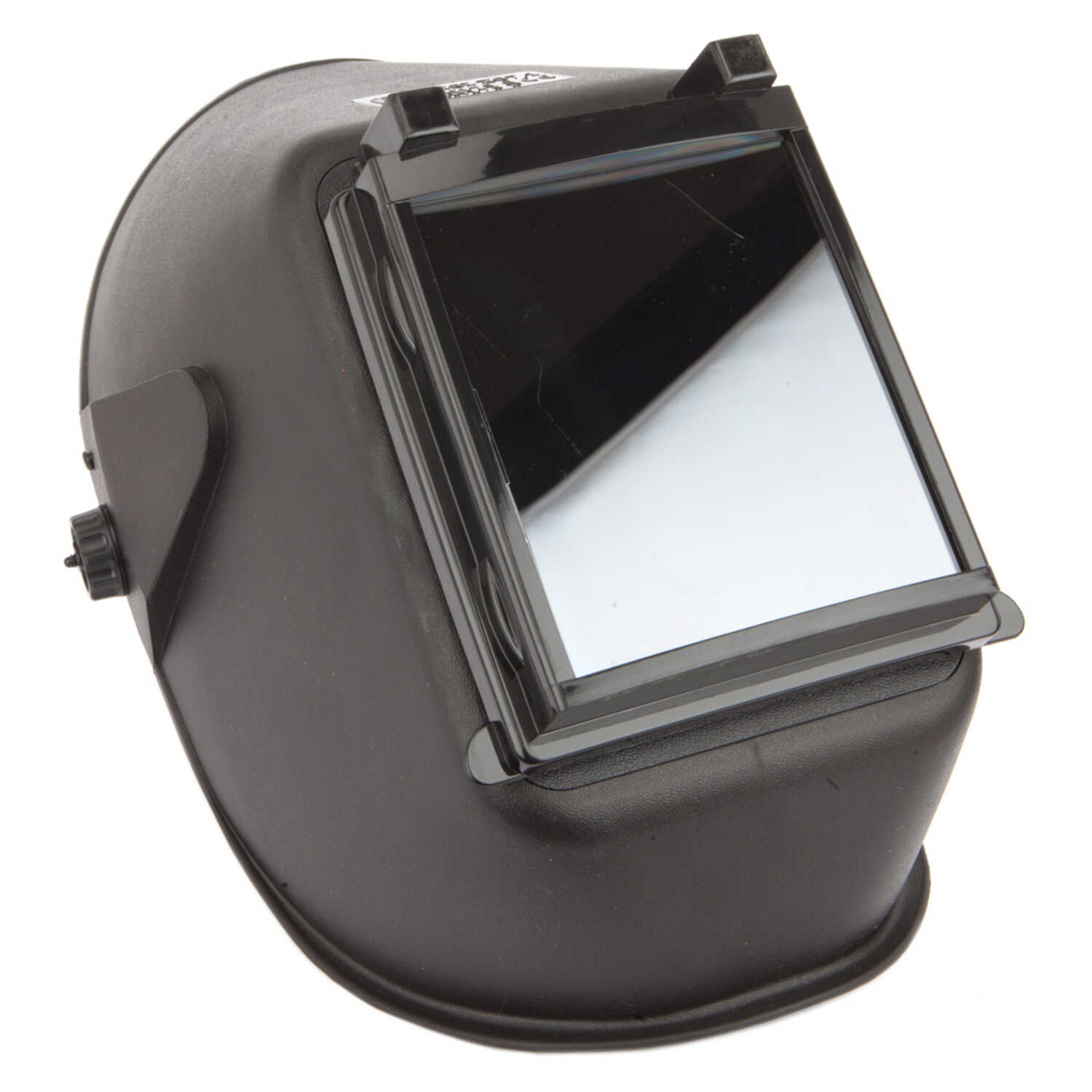 Forney  Bandit III  5.25 in. H x 4.5 in. W Fixed Shade  Welding Helmet  10 Shade Number 1.43 lb. Bla