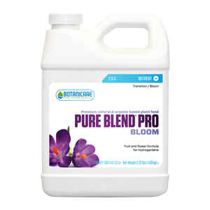 Botanicare  Pure Blend Pro Bloom  Organic Hydroponic Plant Nutrients  1