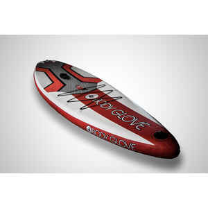 Body Glove  Dynamo iSUP  Polyvinyl  Inflatable White  Paddleboard  5 in. H x 33 in. W x 128 in. L