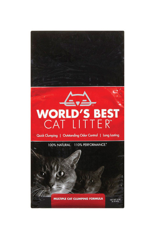 World's Best Cat Litter  Cat Litter  14 lb. Natural Scent