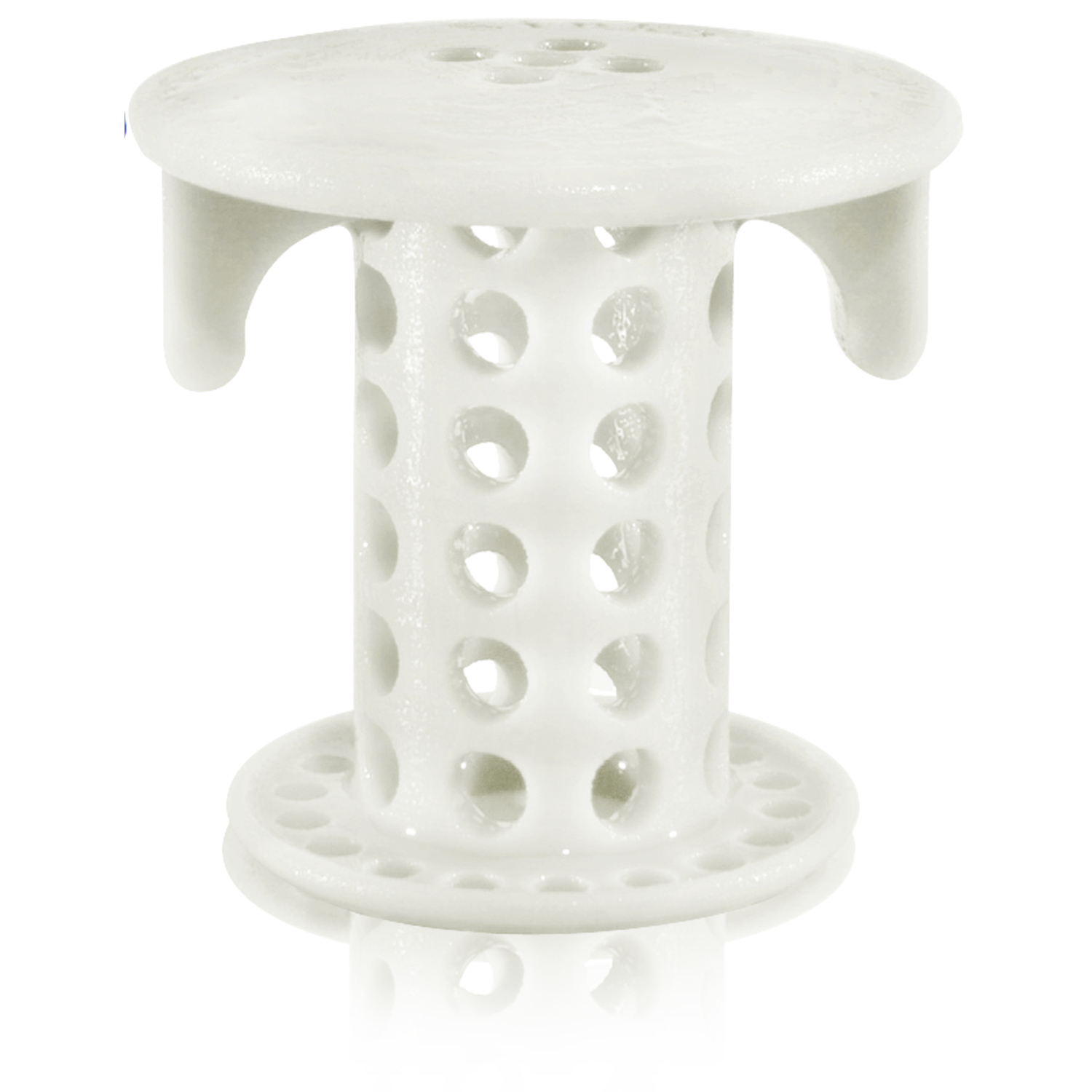 Sink Shroom  1-1/2 in. White  Silicone  Grate  Drain Hair Catcher