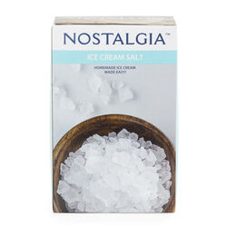 Nostalgia Ice Cream Salt 4 lb. Boxed Concentrated