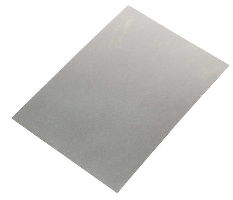 Amerimax  .010 in. H x 5 in. W x 7 in. L Silver  Rectangle  Step Flashing Shingle  Galvanized Steel