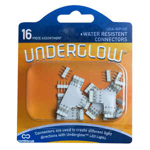 Continu-us  Underglow  White  Plug-In  LED  Extension Kit