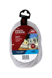 Ace  50 ft. L White  Polyester  Clothesline