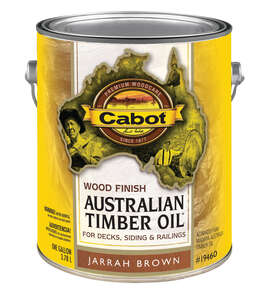Cabot  Australian Timber Oil  Transparent  Jarrah Brown  Natural Oil/Waterborne Hybrid  Australian T