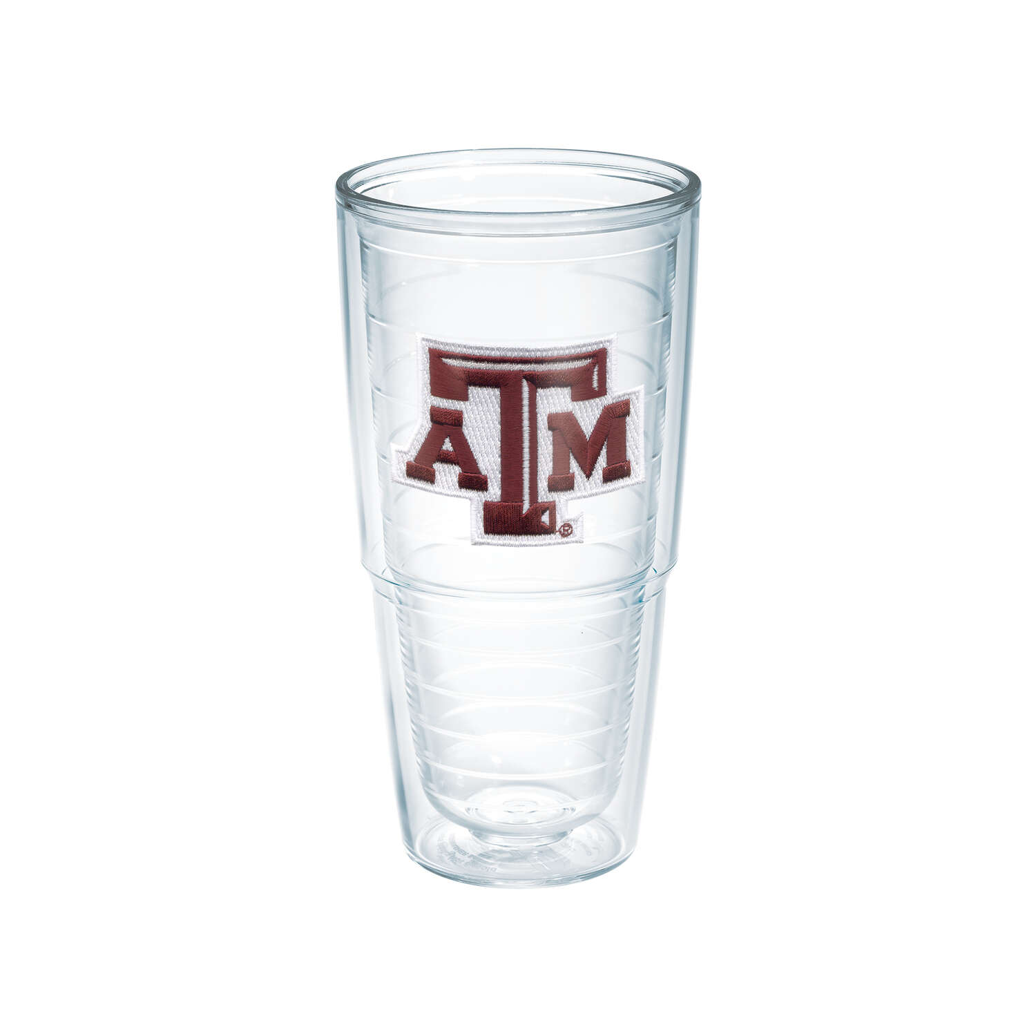 Tervis  24 oz. Texas A and M  Tumbler  Clear