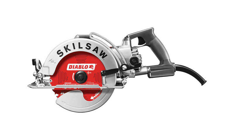 SKILSAW 8-1/4 in. Corded Worm Drive Worm Drive Table Saw 15 amps 120 volt 4700 rpm