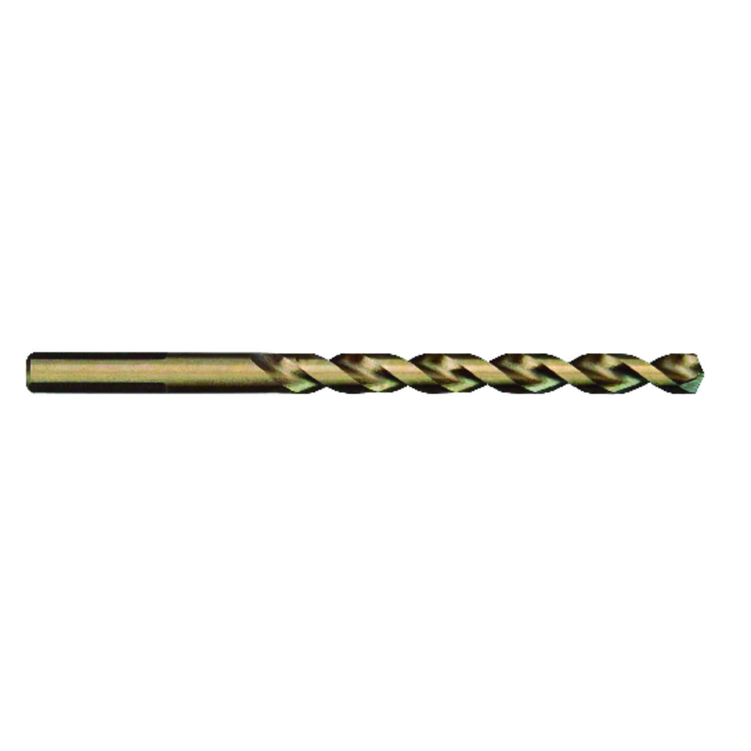 Milwaukee  RED HELIX  1/2 in. Dia. x 5 in. L Cobalt Steel  THUNDERBOLT  Drill Bit  3-Flat Shank  1 p