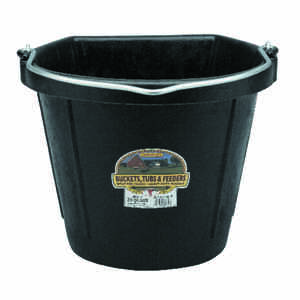 Little Giant  20 qt. Bucket  Black