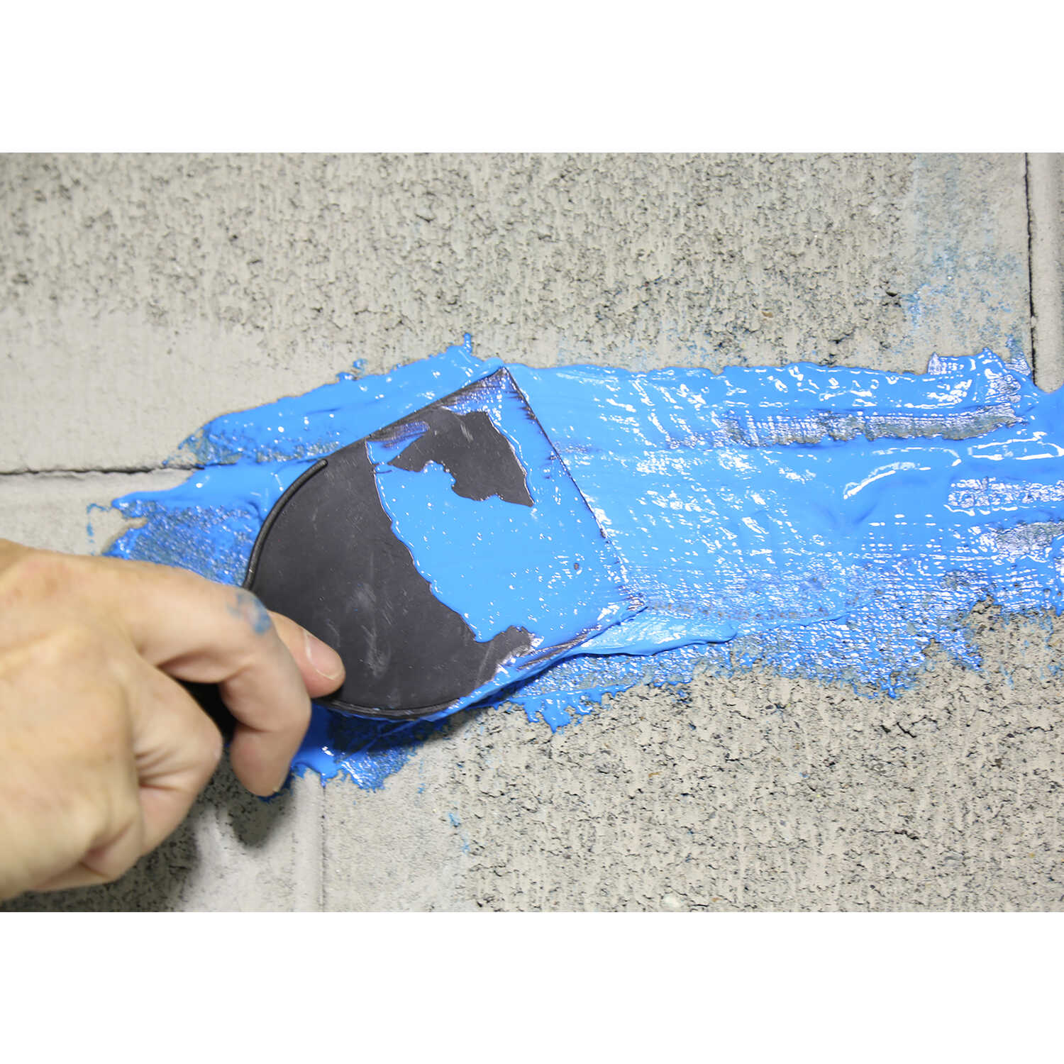 Ames  Matte  Blue  Leakseal Flexible Rubber Sealant  1 gal.