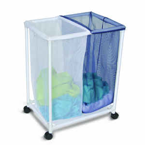 Homz  Multicolored  Duramesh Nylon  Laundry Sorter