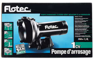 Flotec  Thermoplastic  Sprinkler Pump  1 hp 55  230 volts