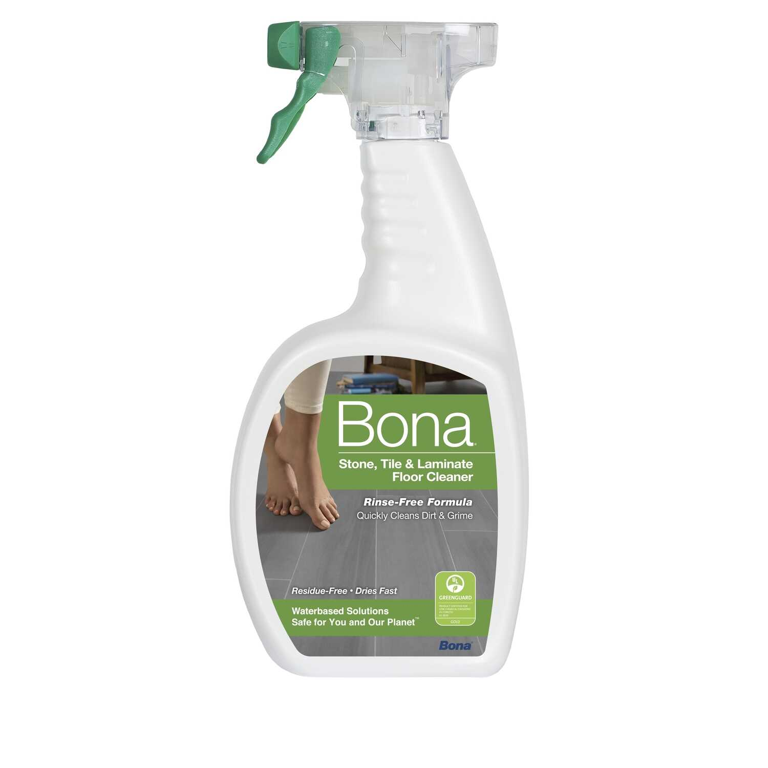 Bona  No Scent Floor Cleaner  36 oz. Liquid