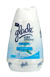 Glade  Clean Linen Scent Air Freshener  8 oz. Solid