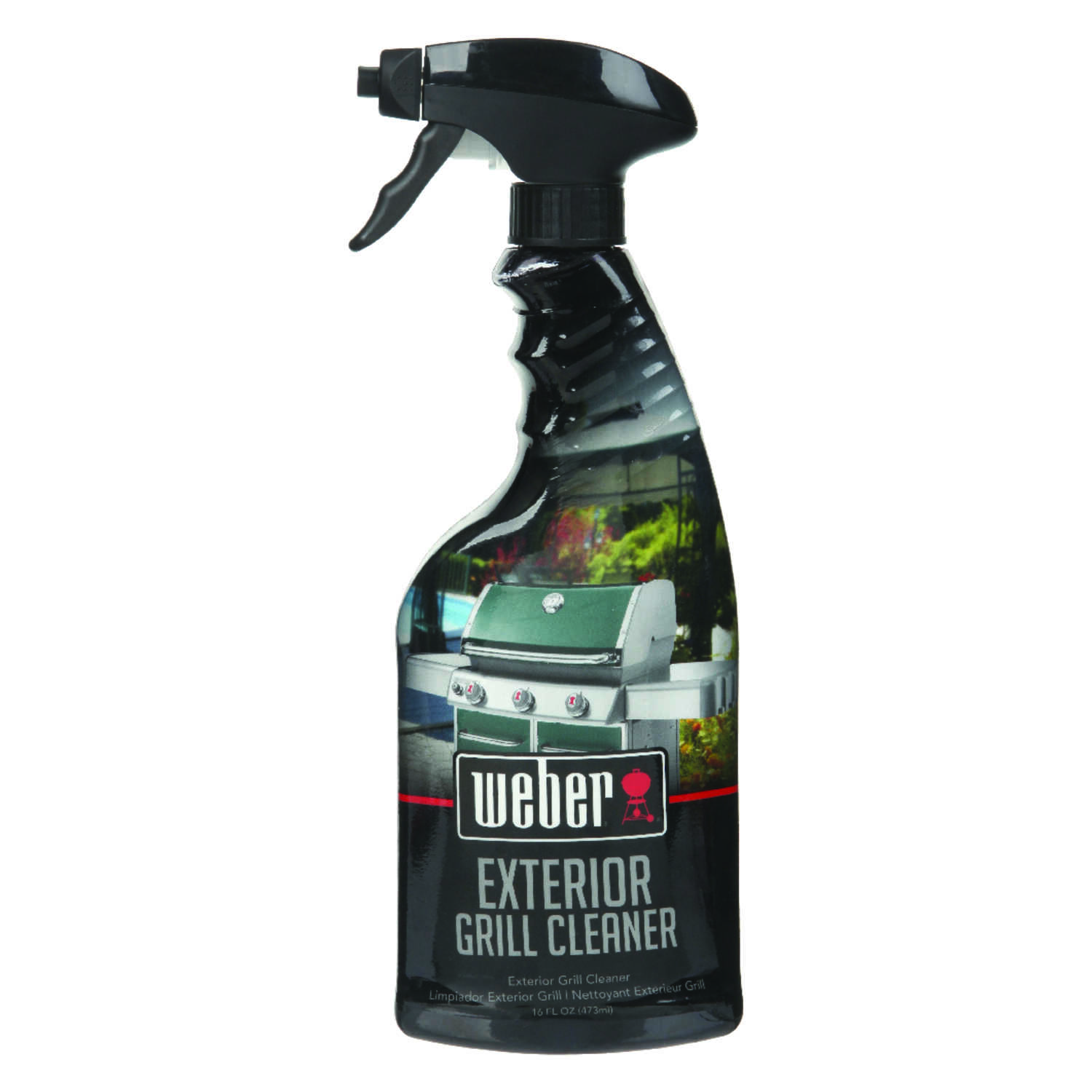Weber  BBQ Grill Cleaner  16oz  Liquid