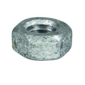 Hillman  1/4 in. Hot Dipped Galvanized  Steel  SAE  Hex Nut  100 pk