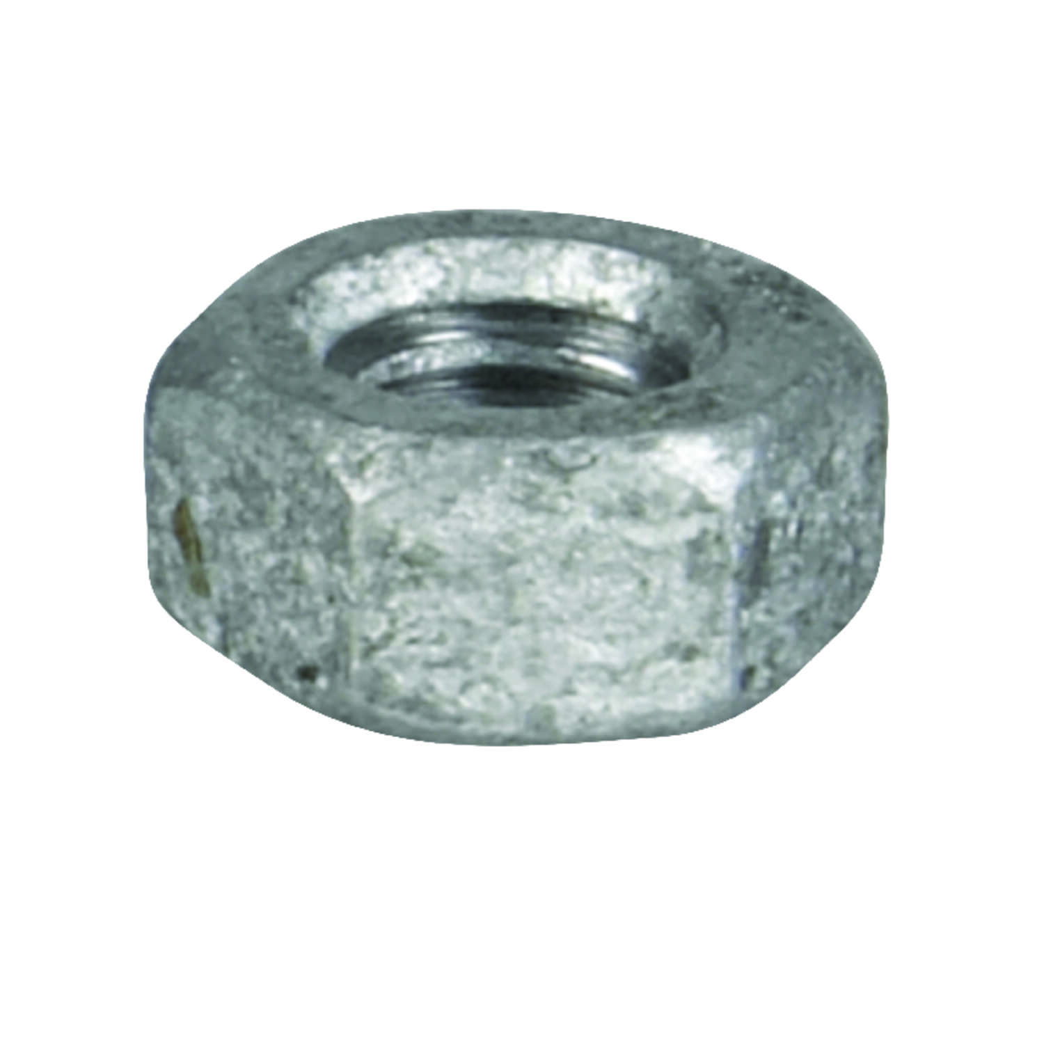 HILLMAN  1/4   Hot Dipped Galvanized  Steel  SAE  Hex Nut  100