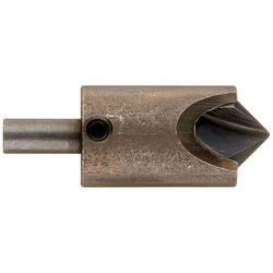 Vermont American  3/4 in. Dia. Tool Steel  Adjustable Countersink  1 pc.