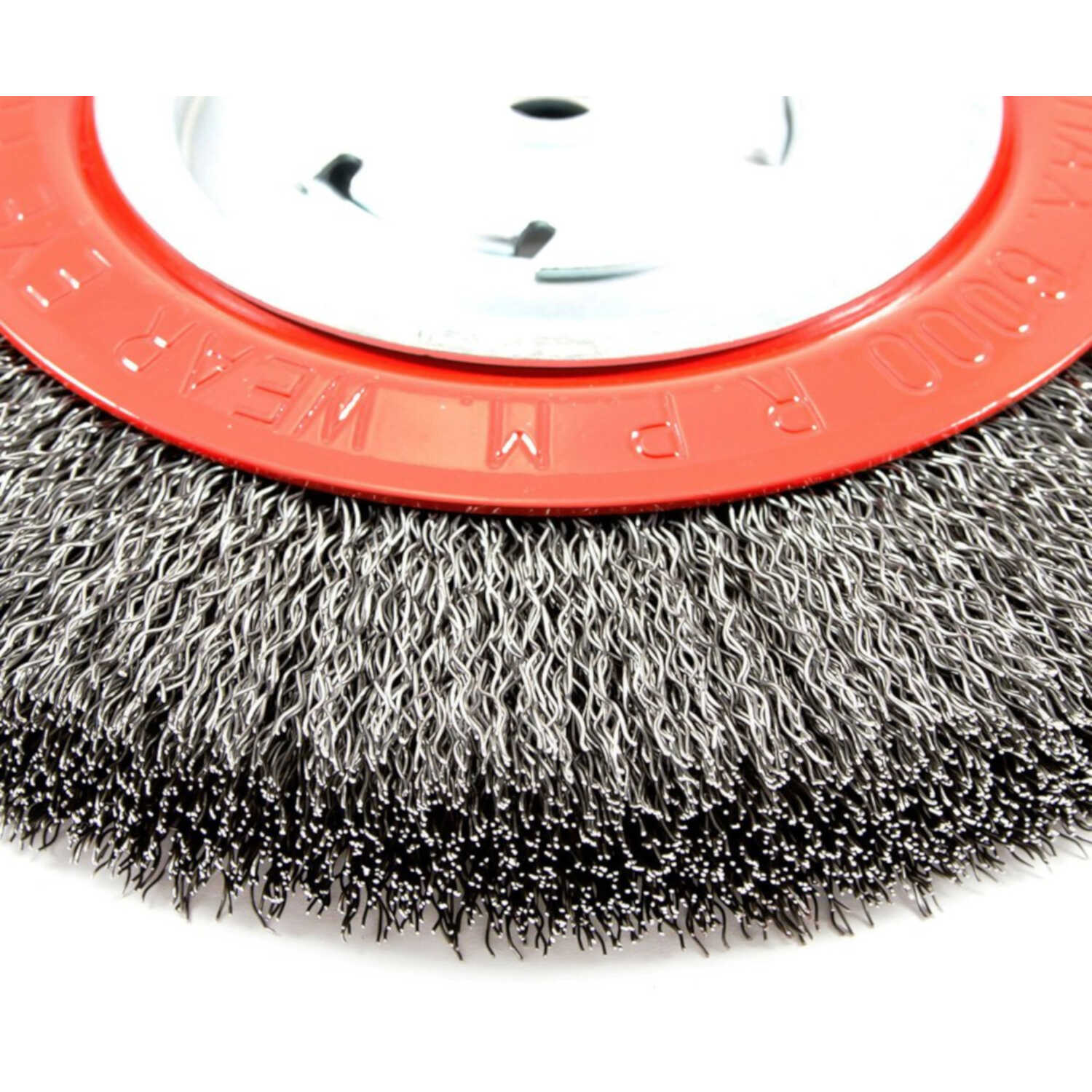 Forney  8 in. Crimped  Wire Wheel Brush  Metal  6000 rpm 1 pc.